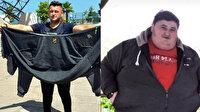 Kilosu yüzünden sevdiği kızla evlenemedi, 6 ayda 212 kilo verdi
