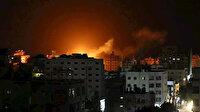 İşgalci İsrail, abluka altındaki Gazze'de Hamas'a ait bir noktayı vurdu: Can kaybı olup olmadığı açıklanmadı