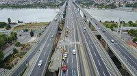 Haliç Köprüsü'ndeki çalışmaların ikinci etabı da çileye dönüştü: Trafik kilit