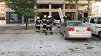 Konya'da doğal gaz patlaması: Olay yerine çok sayıda itfaiye ve sağlık görevlisi sevk edildi