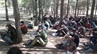 Diyarbakır'da Afganistan ve Pakistan uyruklu 142 düzensiz göçmen yakalandı