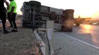 Hakkari'de zırhlı polis aracı devrildi: İki özel harekat polisi şehit oldu