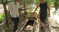 Ankara'da mezarlıkta sır dolu olay: Gördükleri manzarayla şok geçirdiler