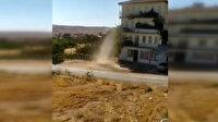 Elazığ'da meydana gelen hortum vatandaşlar tarafından görüntülendi