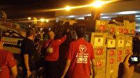 Türkiye'nin yardım eli dünyanın dört bir yanına ulaşıyor: Tıbbi malzeme yardımı Beyrut'a ulaştı