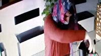 Kadın kılığına girip hırsızlık yaptı: Soygun güvenlik kamerasına yansıdı