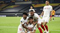 Avrupa Ligi'nde Sevilla son dakikalarda yarı finale çıktı (ÖZET)
