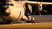 Lübnan'a yardım eli uzatan Türk uçağı 'Koca Yusuf' ülkeye döndü