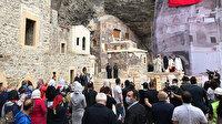 Beş yıl sonra bir ilk: Sümela Manastırı'nda 7'nci ayin