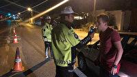 Trafik denetimleri alkollü araç kullananlara geçit vermedi: 1330 sürücü belgesine el kondu