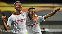 UEFA Avrupa Ligi'nde Sevilla, Manchester United'ı da devirdi (ÖZET)