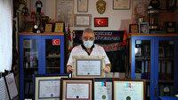 """80 yaşındaki """"Süper Dede"""" beşinci üniversite diplomasına kavuştu: Sırada yüksek lisans var"""