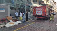 Gaziosmanpaşa'da hastanenin acil serviste tavan çöktü