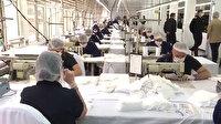 Askeri dikimevlerinde 80 milyon maske, 210 bin litre dezenfektan üretildi
