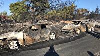 İzmir'deki yangında tatilcilerin araçları yandı: 50 araç kullanılamaz hale geldi