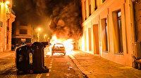 PSG'li taraftarlar Şampiyonlar Ligi finali sonrasında polisle çatıştı: Araçları ateşe verdiler