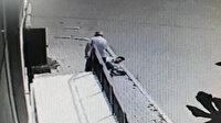 Tartıştığı damadına kurşun yağdırdı: Kayınbaba dehşeti kamerada
