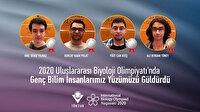 Uluslararası Biyoloji Olimpiyatı'nda dev başarı