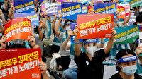 Güney Kore'de grev yapan doktorlara hükümetten emir: İşe dönün