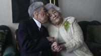 """""""Yaşayan en yaşlı evliler"""" Rekorlar Kitabı'nda: 79 yıldır aynı yastığa baş koyuyorlar"""
