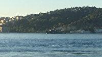 Ruslara ait iki askeri gemi İstanbul Boğazı'ndan geçti
