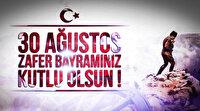 30 Ağustos Zafer Bayramı Türk bayrağı görselleri ve resimli kutlama mesajları