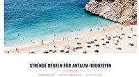 Alman siyasetçi ve gazeteci Friedhelm Ost'tan Türkiye'ye övgü: Türkiye'nin güvenli turizm uygulamaları örnek niteliğinde