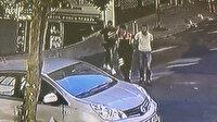 Şişli'de yaşanan hırsız polis kovalamacası kamerada
