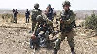 İşgalci İsrailli askerin diziyle boynuna bastırdığı Filistinli: O an George Floyd'u hatırladım