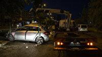 Ankara'daki alkollü sürücü kaza yaptı, yaralı arkadaşlarını bırakıp kaçtı