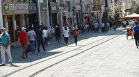 Vaka artışının ardından İstiklal Caddesi'nde maske ve sosyal  mesafe denetimi sıklaştı