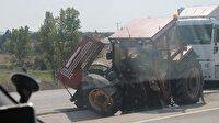 Biga'da 5 aracın karıştığı 2 trafik kazasında 1 kişi öldü, 4 kişi yaralandı