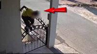 Gaziantep'te evlere giren hırsız önce kameraya, sonra polise yakalandı