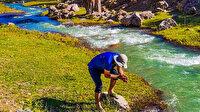 Sıcaktan bunalan Başpınar Tabiat Parkı'na koşuyor: Yaylada buluşup, mağara keşfediyorlar