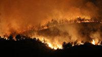 Hatay'da kontrol altına alınan yangında soğutma çalışmaları sürüyor