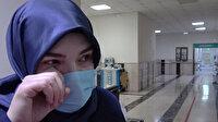 Koronavirüs savaşçılarından Sedef hemşire ağlayarak 'kurallara uyun' çağrısı yaptı