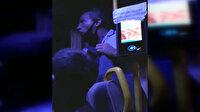 Bodrum'da turistleri minibüsten atıp tepki gösteren yolcularla tartışan şoför kamerada