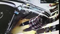 Otobüste kafesinden kaçan kedi ortalığı birbirine kattı