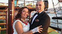 Aydınlı çift gençken aşık oldu 29 yıl sonra dünyaevine girdi: Geç gelen mutluluk