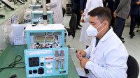 Aselsan'dan Kazaklara solunum cihazı
