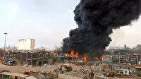 Lübnan Cumhurbaşkanı'ndan Beyrut'taki yangınla ilgili açıklama: Artık bu tür yanlışları kabul edemeyiz