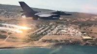 Akdeniz Fırtınası-2020 Tatbikatında F-16'ların katılımıyla hava hücum görevi icra edildi