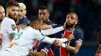 PSG 9 yıl sonra Marsilya'ya kaybetti: Maçta 5 kırmızı kart çıktı (ÖZET)