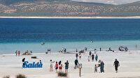 Türkiye'nin Maldivleri Salda Gölü'ne ziyaretçi akını: 600 bin turist ağırladı