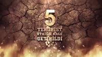 Siirt'in Tandır Dağı bölgesinde 5 terörist etkisiz hale getirildi