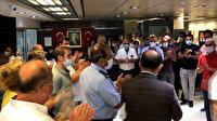 Bakırköy Belediyesi çalışanları Başkan Bülent Kerimoğlu'nu protesto etti