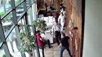 İstanbul'da değnekçi terörü hız kesmiyor: İş yerini basıp, ortalığı savaş alanına çevirdiler