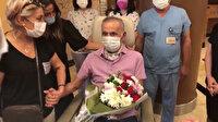 Koronavirüse yakalanıp 4 ay sonra yoğun bakımdan çıkan vatandaş: Neden herkes maske takıyor Kaza mı geçirdim?