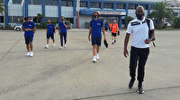 Trabzonspor'un yeni transferleri kadroda
