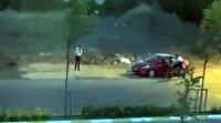 Sancaktepe'de araç gasp anı kamerada